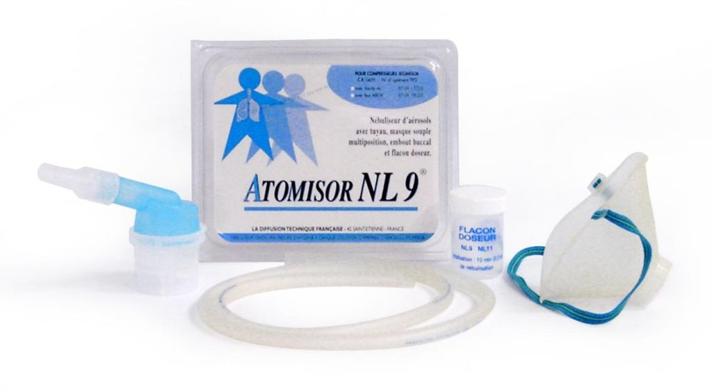 NEBULISEUR NL9P PEDIATRIQUE